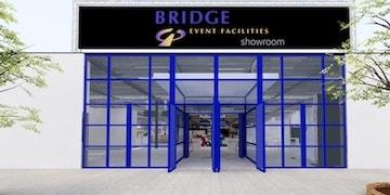 VR Media portfolio - Nieuwbouw - Bridge showroom by bridge event facilities